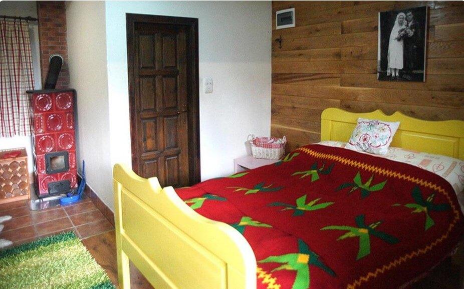 Rajski konaci krevet